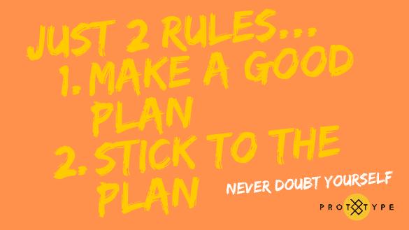Just 2 Rules Wallpaper