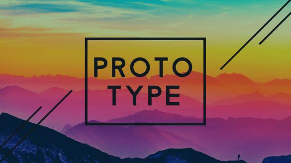 Prototype Colored Hills Wallpaper