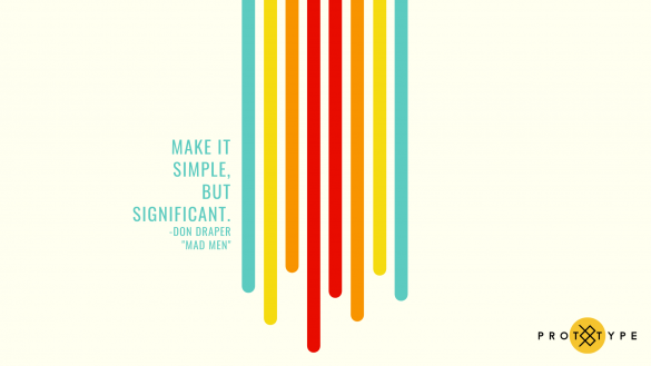 Prototype Make it Simple Wallpaper