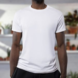 A basic crew neck tshirt