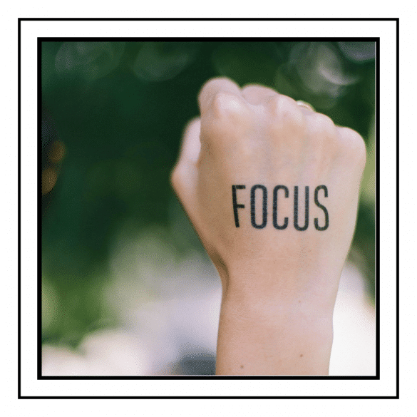 Stay focused on your goals
