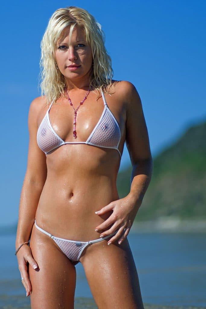 Clear Plastic Bikini Top